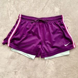 Nike Women's Dri-Fit Short with Spandex Lining